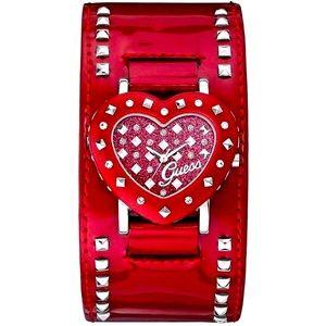 Guess Heart Watch Cuff Analog